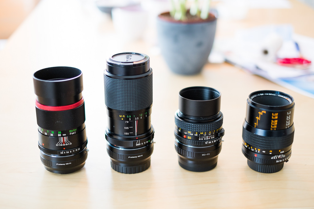 Minolta MD lenses